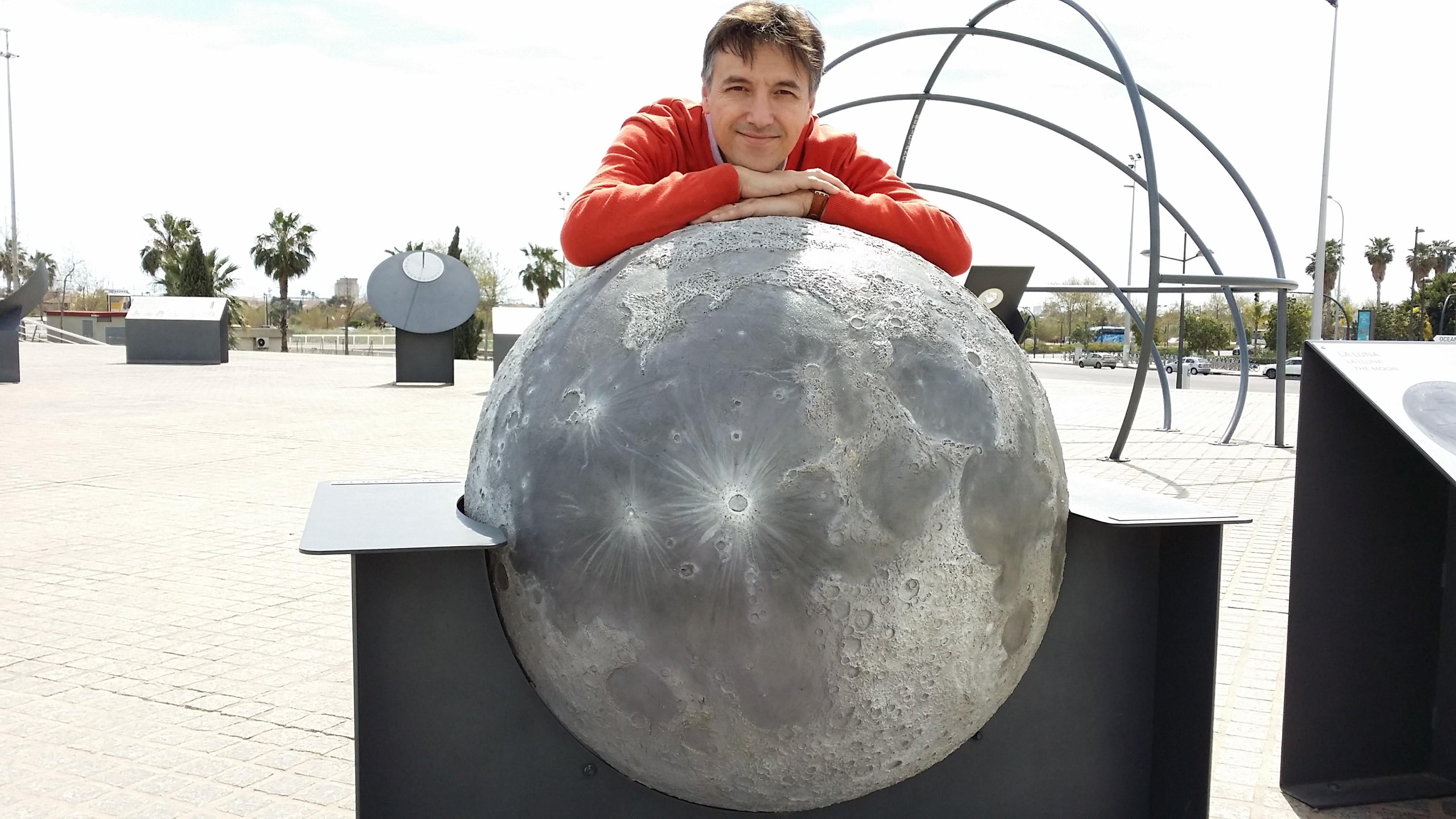 con la luna